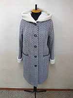 Пальто женское  -Р-161 - букле- размер 52-58