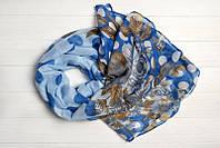 Легкий шарф Сен-Тропе, 100% вискоза, голубой