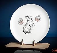 Тарелка Кролик