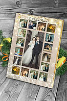 Шоколадный набор с фото Классика с Новым годом