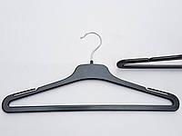 Плечики вешалки  тремпеля TOP-35P черного цвета, длина 35 см