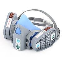 Полумаска с фильтрами от органических паров 9400А с креплением байонет
