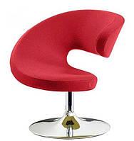 Дизайнерское кресло Опорто красный велюр точная копия дизайнерской работы