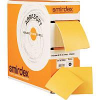 Абразивная губка Smirdex Abrasoft с перфорацией, рулон 25м, Р=1000