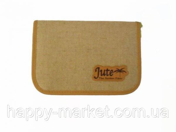 Пенал TIGER Jute (1 отделение, без наполнения, ткань с нашивкой)