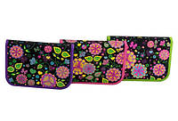 Пенал твердый Willy WL7032 Фантастические цветы (1 отделение)