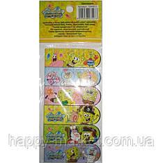 """Закладка с магнитом 10183-7/15446-2 """"Sponge Bob"""" (6 шт. в упаковке )"""