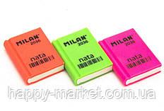 Гумка Milan 2036 Книжка 3,9*2,9*0,9 мікс (уп36)
