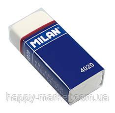 Гумка Milan 4020 MIGA DE PAN прямокутний (55.5*23.5*13.5 mm) матеріал-каучук/ призначений (B-8B)