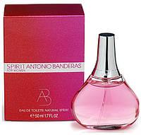 Женская туалетная вода Spirit Antonio Banderas for Woman 50 ml
