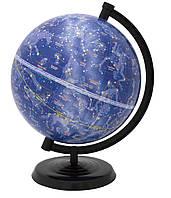 Глобус 220 мм. звездное небо на Украинском языке