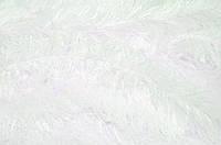 Белый мех-травка ворс 30мм, ткань для пошива игрушек