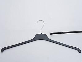 Плечики вешалки тремпеля  TOP-45 черного цвета, длина 45 см