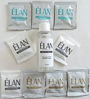 Гель-краска для окрашивания бровей (тёмно-коричневый / тёмно-коричневый / тёмно-коричневый) в наборе ELAN