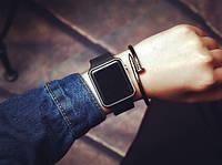 Apple Watch (Реплика), часы светодиодные LED цифровые. Серебро