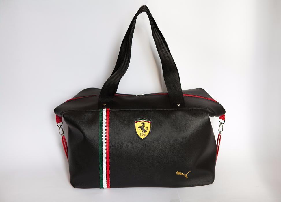 3e4c5b0397fb Женская спортивная сумка Puma Ferrari Черная Пума Феррари - Медицинская  одежда, Мужская и Женская одежда