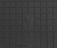 Резиновые коврики Stingray Стингрей Kia Sorento  2015- Комплект из 2-х ковриков Черный в салон. Доставка по всей Украине. Оплата при получении