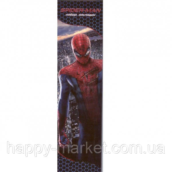 "Набор закладок 9 шт. (картон) ""Spider Man"""