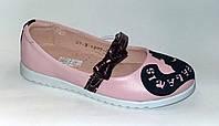 Туфли кожаные для девочек, р. 28,30