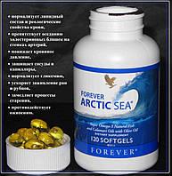 Органические Омега3 и Омега9, Арктическое Море (супер омега 3), Форевер, США, Forever Arctic Sea, 120 капсул