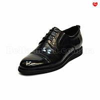Мужские модельные туфли на танкетке Basconi