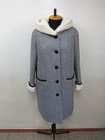 Пальто женское  -Р-178- букле-54 размер
