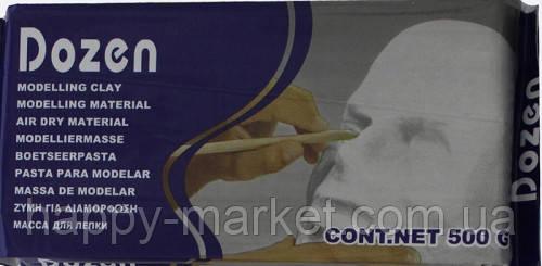 Паста для моделирования W500 белая 500 гр (сохнет на воздухе, не требует обжига)