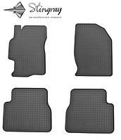 Резиновые коврики Stingray Стингрей Mazda 6 2008-2013 Комплект из 4-х ковриков Черный в салон. Доставка по всей Украине. Оплата при получении