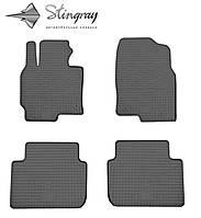 Резиновые коврики Stingray Стингрей Mazda CX-5  2011- Комплект из 4-х ковриков Черный в салон