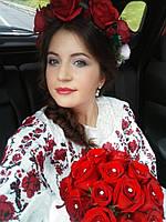 Платье свадебное с вышивкой СЖ 3581