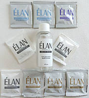 Гель-краска для окрашивания бровей (светло-коричневый / светло-коричневый / чёрный) в наборе ELAN