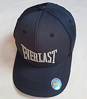"""Кепка подростковая  """"Everlast"""". Размер  54-55 см.Темно-синий. Оптом."""