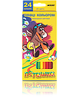 "Карандаши цветные ""MARCO"" Пегашка (24 цвета)"