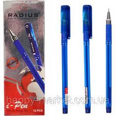 Ручка шариковая Radius I-Pen синяя матовая, 12 шт.