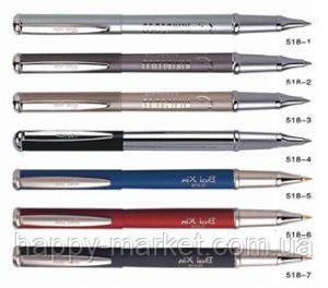 Ручка металлическая капиллярная BAIXIN RP518 матовый корпус (микс)
