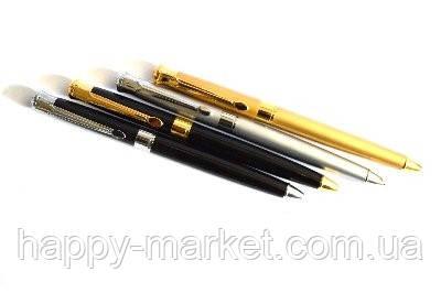 Поворотна Ручка металева BAIXIN BP807 (чорний+золото+срібло), фото 2