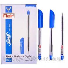 """Ручка шариковая масляная Flair """"SMS"""" синяя"""