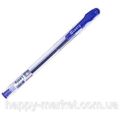 """Ручка кулькова LEXI """"5"""" 41072 (синя), фото 2"""
