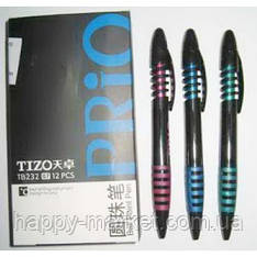 """Ручка шариковая автоматическая """"Techjob"""" TB232 Tizo Prio (синяя)"""
