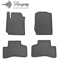 Резиновые коврики Suzuki Grand Vitara  2005- Комплект из 4-х ковриков Черный в салон