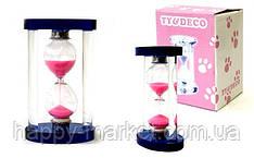 Часы песочные стекло 9x5 см.