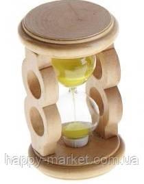 """Часы песочные декоративные """"Round"""" дерево 9.5x5.7 см., mix 0472, фото 2"""