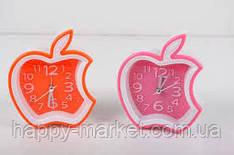 Годинник-будильник №AS-920 Яблуко (10*10,5)