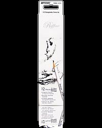 """Олівці графітні """"MARCO"""" Raffine (12 шт., H) 7000-12CB"""