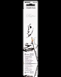 """Олівці графітні """"MARCO"""" Raffine (6 шт., HB,2B,4B,6B,7B,8B) 7000-6CB"""