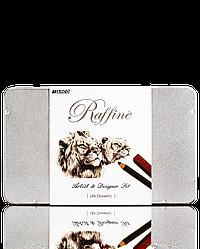 """Набір для графіки """"MARCO"""" Raffine Art в металевому пеналі 7950LD-TN"""