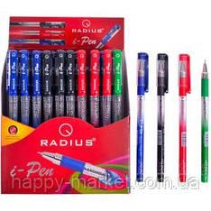Ручка шариковая Radius I-Pen с принтом, микс, 50 шт.