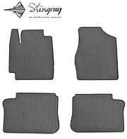 Резиновые коврики Stingray Стингрей Toyota Camry XV20 1997- Комплект из 4-х ковриков Черный в салон. Доставка по всей Украине. Оплата при получении