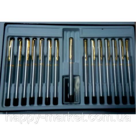 Ручка капиллярная BAOER GB801S металл с позолотой, фото 2