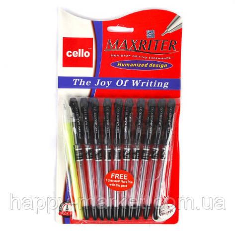 """Ручка Cello """"Maxriter"""" 056 4 км. дубликат + дополнительная ручка (черная), фото 2"""